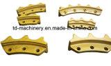 Secteur denté de train d'atterrissage de pièce forgéee de qualité de fonte de segment de pignon du bouteur D50 de KOMATSU