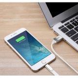 Großverkauf-Aluminiumverbinder umsponnenes USB-aufladennylonkabel für Brombeere