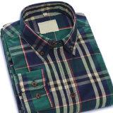 OEM van de fabriek Katoenen van de Koker van de Mensen van het Overhemd van de Manier Toevallig Lang Overhemd