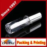 tubo cosmetico vuoto del contenitore di lucentezza della mini dell'orlo 1.2ml di lucentezza del tubo di orlo bottiglia sveglia d'argento del balsamo