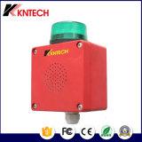 De rode Waakzame D13 Fabrikant van het Alarm van Kntech IP PBX Sounder