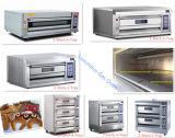 Horno de gas eléctrico de la máquina de la hornada de la pizza para las ventas (fábrica verdadera)