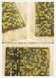 Mosaico de oro del color de la mezcla para el fondo