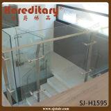 海洋の等級316のステンレス鋼の緩和されたガラス台地の柵(SJ-S344)