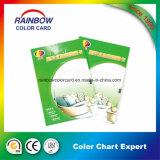 Depósito de catálogo de cor de impressão para pasta de cor base de água