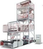 la máquina de la protuberancia de la película del PE 2sj-G60 con rotatorio muere la pista