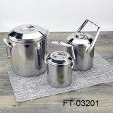 Нержавеющая сталь с контейнером еды вешалки крышки (FT-03201)