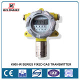ый RS485 взрывозащищенный токсический детектор утечки воспламеняющего газа 4-20mA/