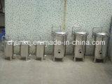 Cárter del filtro industrial del purificador del agua del acero inoxidable