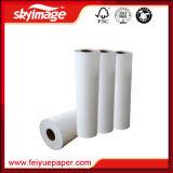 90GSM 63 '' *100m ayunan papel de antienrollamiento seco de traspaso térmico para la impresora de la sublimación