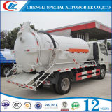 camion à haute pression d'aspiration d'eaux d'égout du vide 5cbm