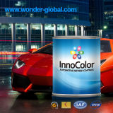 Altération superficielle par les agents du véhicule résistant tournant des couleurs acryliques