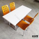 4 Seaters Artificial Stone Restaurante mesa de jantar e cadeira (T1704204)