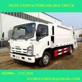camion di immondizia del costipatore di compressione M3 di 700p Isuzu 8 da vendere
