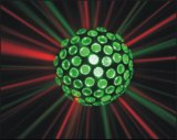 Luz mágica de cristal do efeito da esfera do diodo emissor de luz RGB para o partido