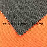 Tissu r3fléchissant ignifuge de polyester de vêtements de travail de la plus défunte vente en gros de modèle