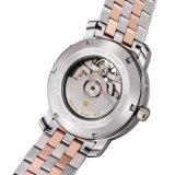 Wristwatch Relogio роскошной нержавеющей стали недели даты Tourbillon вахты людей водоустойчивой автоматический механически мужеское