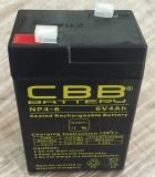 Bateria selada <Cbb>Rechargeable 6V4ah do AGM VRLA do Mf
