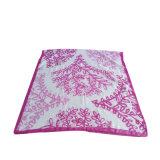 Colore rosso chiffon stampato di Mei del vestito dalla spiaggia della sciarpa di Georgette del poliestere
