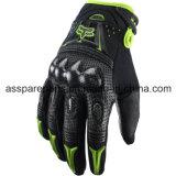 Зеленое волокно углерода качества резвится перчатки для всадника мотоцикла (MAG13)
