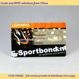磁気ストライプ(ISO 7811)が付いているプラスチックから成っている体操のメンバーのカード
