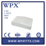 Triple Play Gpon ONU do Fe do Ethernet CATV WiFi FTTH 1ge 3 do gigabit