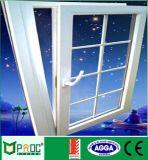 Fenêtre vitrée inclinée en alliage d'aluminium, fenêtre inclinable ouverte avec As2047