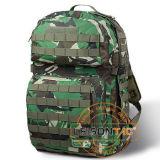 Bolso del ejército con color del camuflaje del interior de 2 bolsillos de la hidración