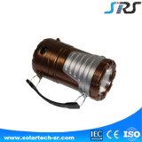 Alta calidad solar portátil mini linterna LED con el cargador del teléfono móvil de la venta caliente