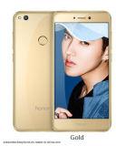 en el teléfono celular original común de Lite del honor 8 de Huawei Hisilicon Kirin 655 5.2 oro elegante del teléfono SIM del RAM 32GB de la pulgada 4GB de la tarjeta de la ROM del frente de la cámara dual de la parte posterior