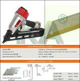 Cloutier pneumatique de finissage de la cornière Nt65 pour empaqueter, décoration