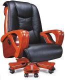 고아한 회전대 나무로 되는 Eames 매니저 가죽 사무실 의자 (HX-AB110)