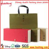 Caixa de empacotamento do papel especial da forma com estofamento de seda