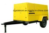 Compresor portable accionado por el motor diesel del tornillo de la construcción al aire libre de la aplicación (PUD10-13)