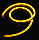 Luz de néon de LED flexível a prova de água decorativa ao ar livre