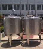 Réservoir de mélange de réservoir d'acier inoxydable de réservoir d'avoirs de lait de réservoir de chauffage