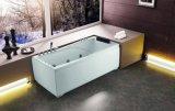Bañera del masaje con un panel movible