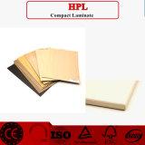 Revestimiento de madera de la pared interior de HPL