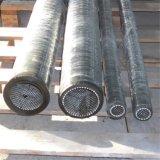 Haltbarer Gummischlauch für das Transportieren des Kohle-Puders