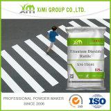Dióxido Titanium TiO2 del buen rutilo de la resistencia a las inclemencias del tiempo para la pintura del camino