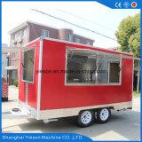 Camion mobile su ordinazione dell'alimento di Schang-Hai Yieson