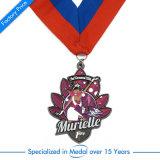 Kreative Decklack-Sport-Medaille mit Abzuglinie