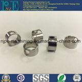Bonnes pièces en aluminium usinées par commande numérique par ordinateur faites sur commande d'oxydation anodique en noir de qualité