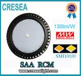 Luz industrial de la bahía del UFO LED de 100W 150W alta, alta bahía de 200W LED
