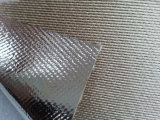 Придайте огнестойкость и ткань стеклянного волокна алюминиевой фольги изоляции жары