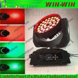 높은 광도 LED36PCS*10W 4in1 RGBW 세척 급상승