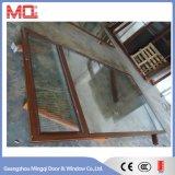 Grande fenêtre en aluminium à panneau fixe