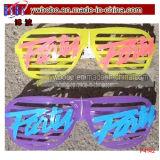 Incandescenza di plastica di vetro del partito degli occhiali da sole nel partito scuro di Thd (P4142)