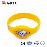 MIFARE mais o Wristband do silicone de X 2k RFID NFC