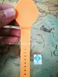 braceletes do Wristband do silicone RFID do Hf NFC de 13.56MHz Ntag213